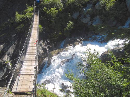 Bionnassay Suspension Bridge